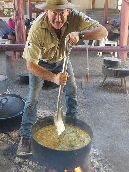 Ranger Nick's Camp Oven Curry
